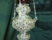 Καντήλι Ασημένιο Σκαλιστό